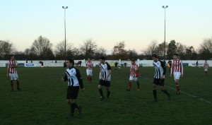 RPS sponsor Northallerton Town Football Club match against Ryhope WC