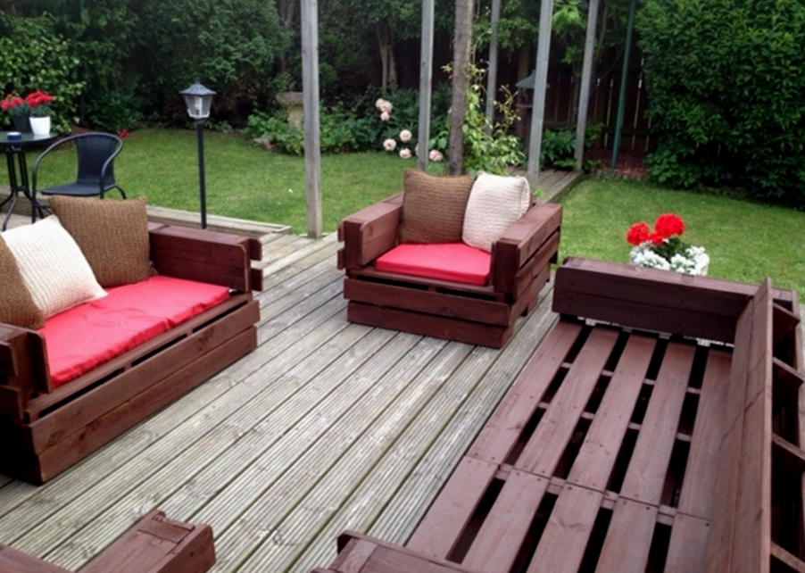 Patio Furniture From Pallets-rpsltd.com