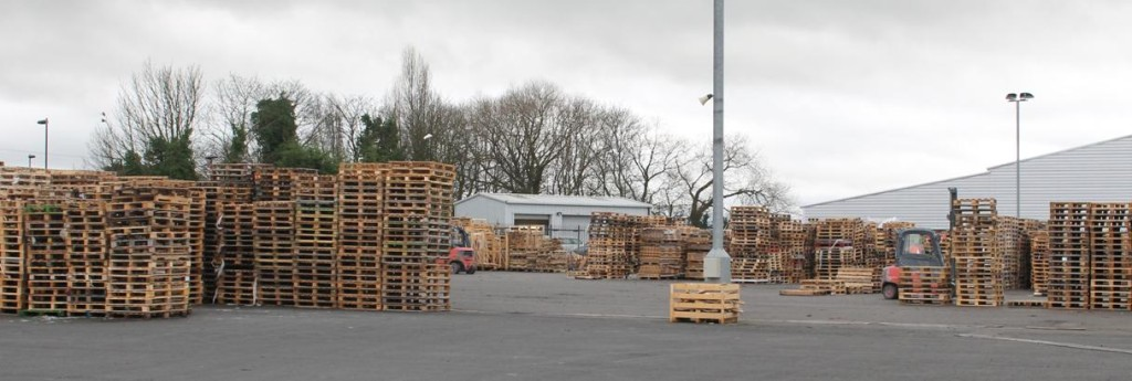 Higher pallet prices and security of pallet supply