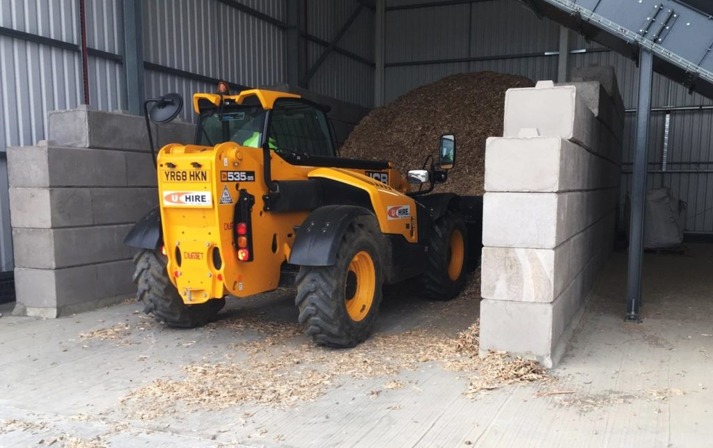 First woodchip load leaves the depot
