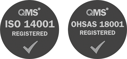 RPS are an ISO 14001 and ISO 18001 registered firm.