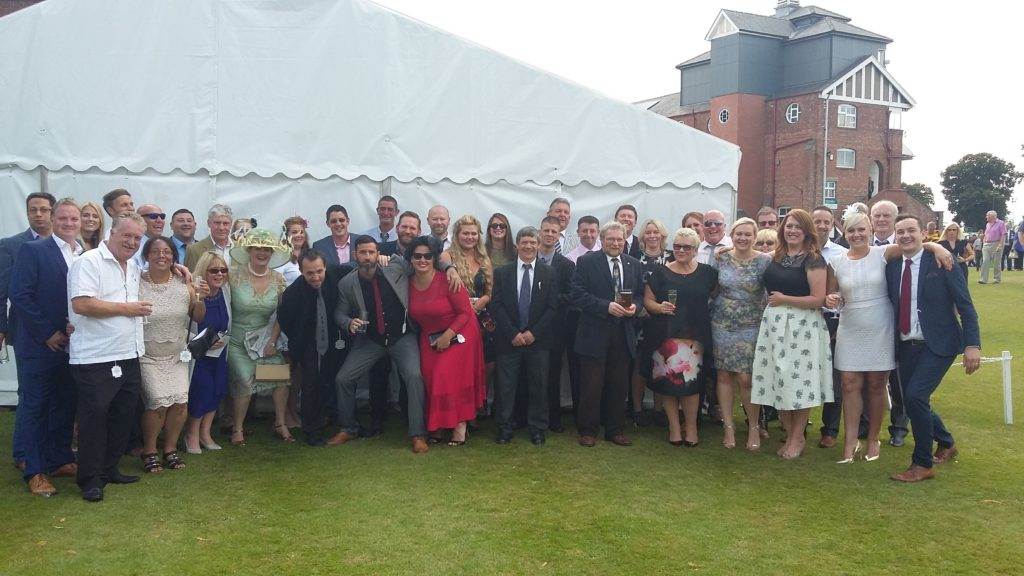 Everyone at the race day Jul 2016