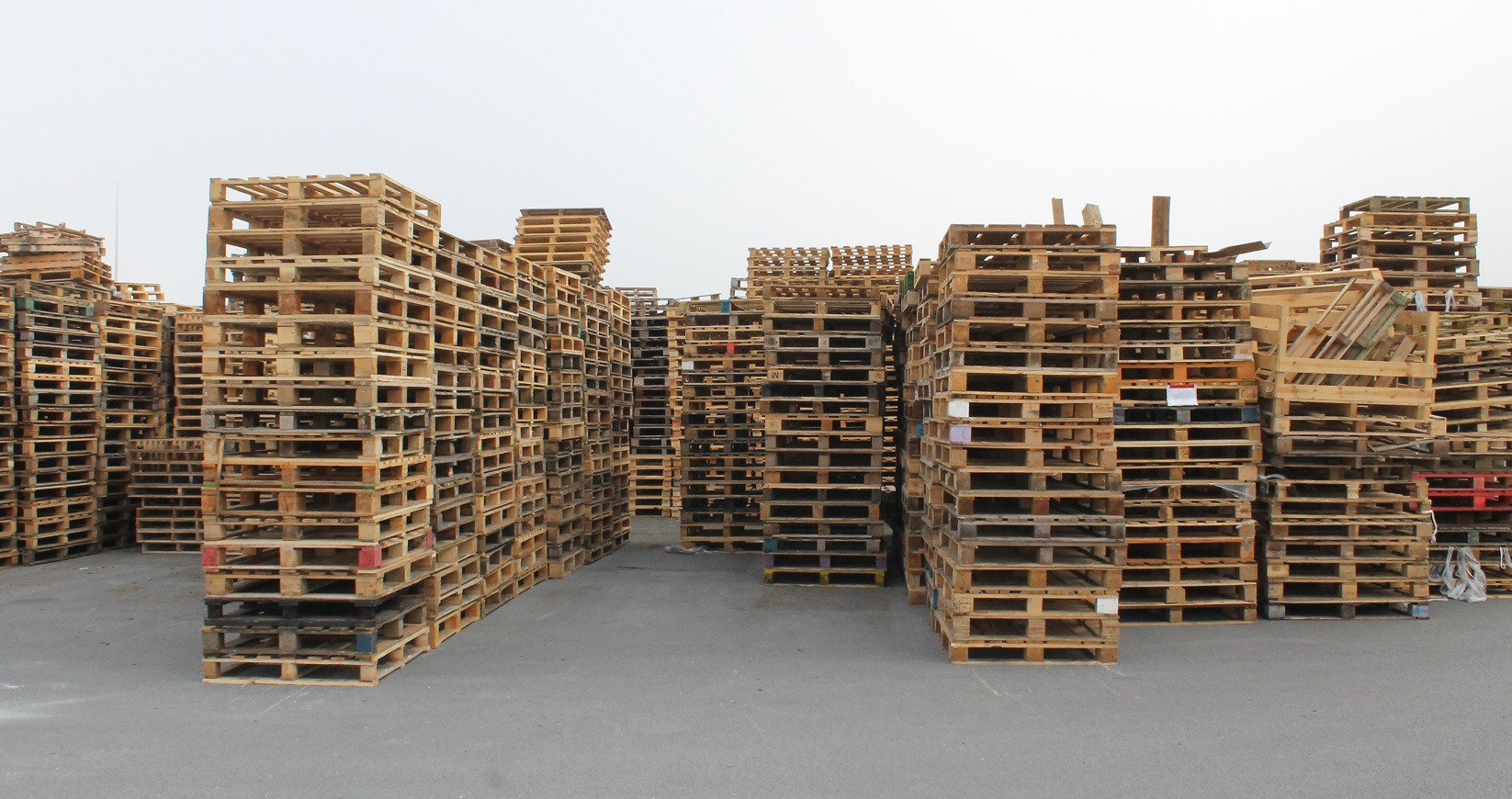 Pallets to sort