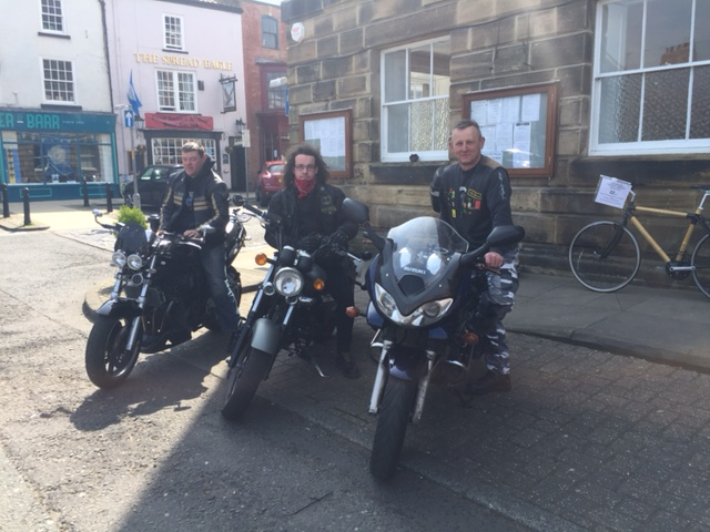 Riders from Tees Rider MCC who supported the race thisyear